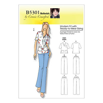 6XL Butterick 6146 Paper Sewing Pattern to MAKE Fit /& Flare Dress XS-XL or XXL