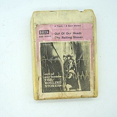 8 Track 8 - Spur Tonband Rolling Stones inkl. DHL Paketversand