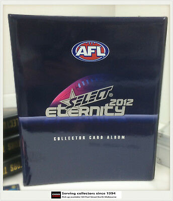 2012 Select AFL Eternity Trading Card Official Album ( No Pages)