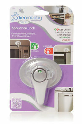 Dream Baby Ezy - Check Oven And Appliance  Lock Silver