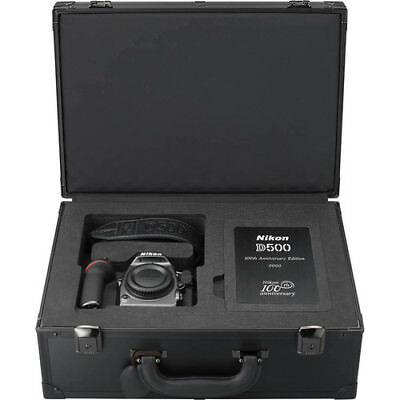 Nikon D500 (100th Anniversary Ed) 20.9MP Digital SLR Camera Black (Body Only)