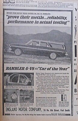 1963 newspaper ad for Rambler - Classic Cross Country Station Wagon, reliability