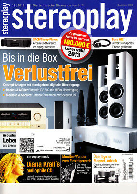 Stereopl. 12/12 Clearaudio Master Innovation,Teufel T 500 Mk 2,Sonus Faber Vener
