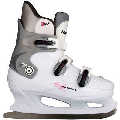 Nijdam Figure Skates Ice Skating Hard Boots Shoes Blades Size 36 0031-WZF-36