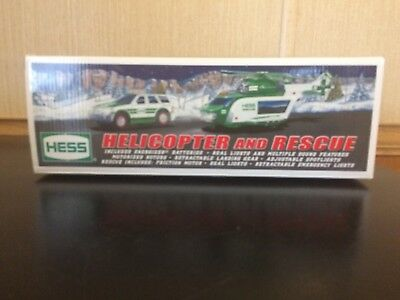 2012 Hess Toy Truck Helicopter And Rescue Unopened