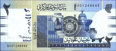 Sudan Pick-number: 65a uncirculated 2006 2 Pound