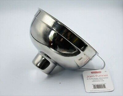 New Stainless Steel Wide Mouth Jam Funnel Apollo 9562