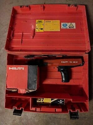 Hilti DX 36 M Semi-Automatic Power Actuated Fastener.