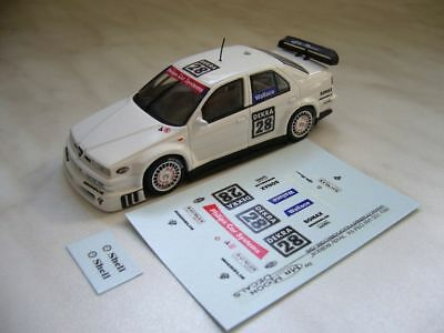 1/43 - Decals Alfa 155 V6 DTM 1994 - Andy Wallace #28