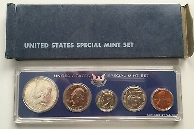 1966 United States Coin collection, US Coins UNC & cased  *[13164]