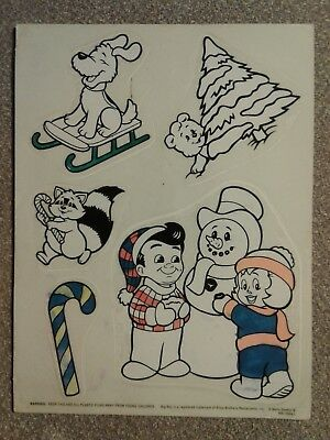 "Vintage ""BOB'S BIG BOY"" Holiday Christmas Sticker Bob's Big Boy Restaurant RARE"