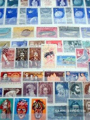Romania 400 different  special stamps in complete Expenditure