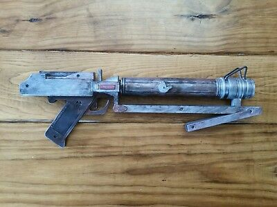 "Custom Steampunk Cosplay Prop Toy Movie Space Gun Costume 17"" Star Wars Blaster"