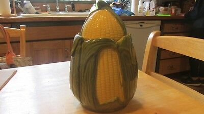 "Shawnee Pottery ""CORN KING"" cookie jar  1946-1954"