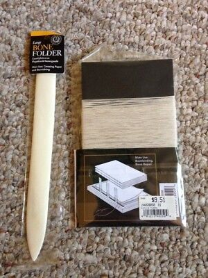 Book Binding  supplies- Large Bone Folder and Binder's Thread NEW