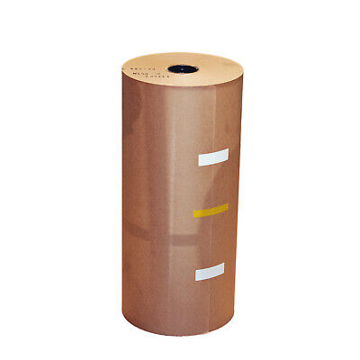 2x Brown Kraft Packaging Paper Roll 450mm x 450m 50GSM Void Fill & Box Wrapping