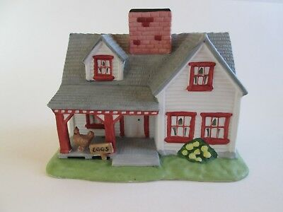 "Partylite Candle Holder ""The Farmhouse"" Chickens  Eggs For Sale PO532 GC"