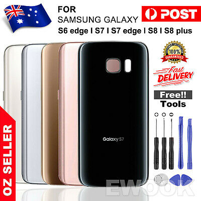 For Samsung Galaxy S8 Back Rear Glass Housing Battery Cover Case +TOOLS
