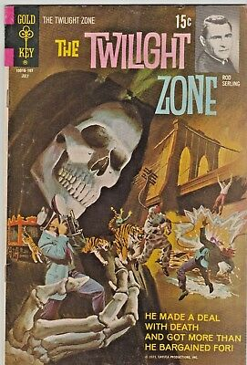 THE TWILIGHT ZONE #38 Gold Key 1971 Rod Serling in 8.0