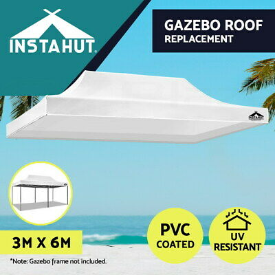 Instahut 3x4.5m Gazebo Outdoor Pop Up Tent Folding Marquee Party Camping Canopy