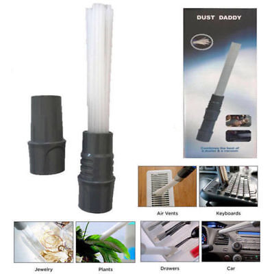 1pc Dust Daddy Brush Cleaner Dirt Universal Vacuum Attachment Cleaning Brush