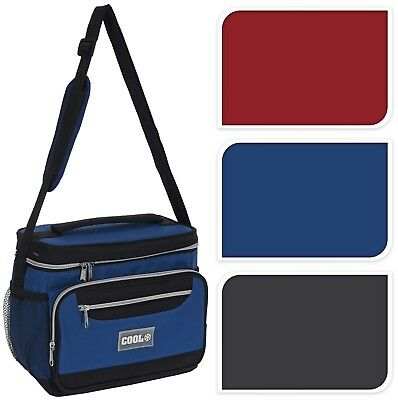 Heavy Duty Cooler Bag 12 Litre Insulated Cool Bag Drinks Picnic Beach Festival