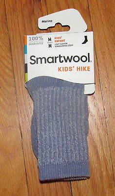 Smartwool Kids Boys Girls Purple Lavender Hike Lt Crew Socks S, M NWT