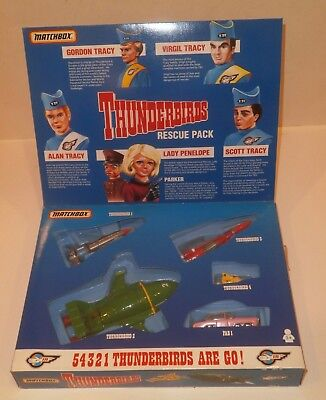 Matchbox Thunderbirds Rescue Pack-1994-Mint-In-Box