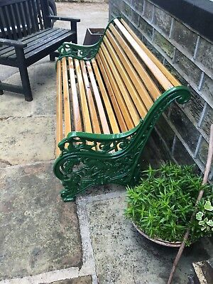 Awesome Reclaimed Restored Victorian Cast Iron Garden Bench Pdpeps Interior Chair Design Pdpepsorg