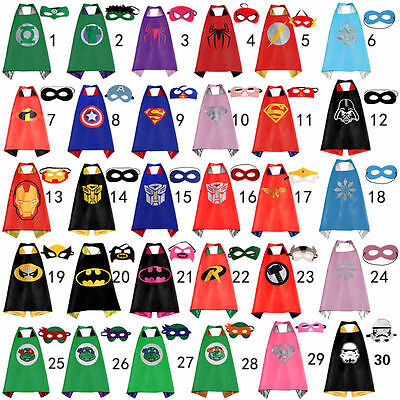 Cape for kid birthday party favors and ideas Kids Superhero  Cape(1 cape+1 mask)