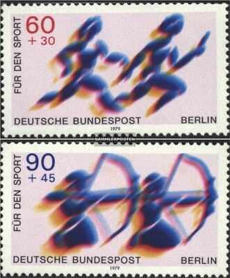 Berlin (West) 596-597 (complete issue) FDC 1979 Sports Aid