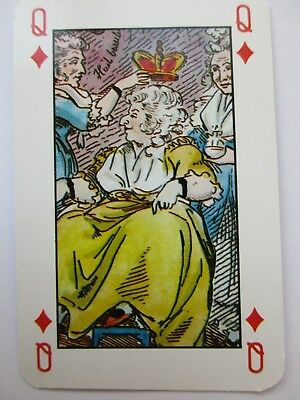 Interessantes schoenes Kartenspiel. Bes.Bild.Great playing cards. Cartes a jouer