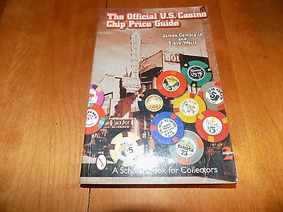 THE OFFICIAL U.S. CASINO CHIP PRICE GUIDE Poker Chips Collector 2nd Ed. G Book