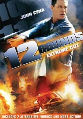 12 Rounds (Extreme Cut) JOHN CENA USED VERY GOOD DVD