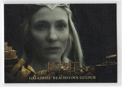 The Hobbit The Battle of the Five Armies - Base Card 24 Canvas Parallel 05/75