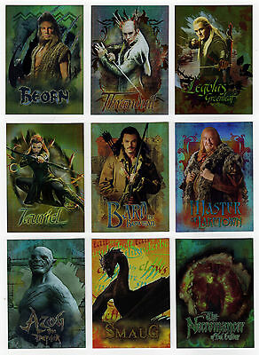 The Hobbit : The Desolation of Smaug Character Biography Chase Set CB20 - CB28