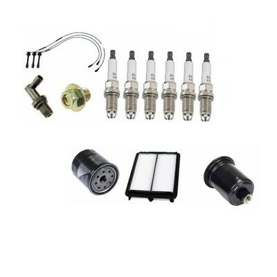 NGK Wire-Spark Plugs-Air-Fuel-Oil-Kit 96-02 For Toyota 4runner//Tacoma 3.4L V6