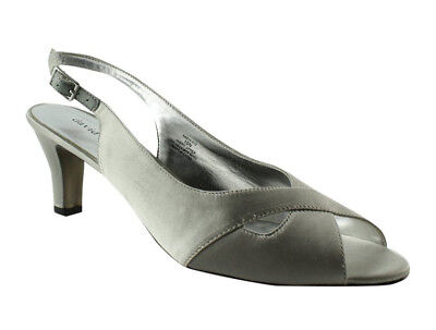 ba28907b057 New David Tate Womens Palm-040 Silver Pumps Size 10