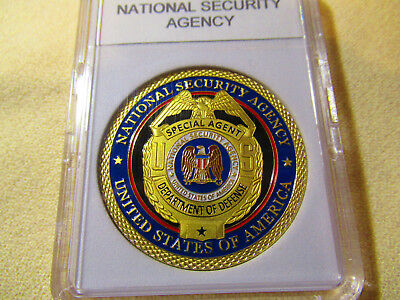 National Security Agency Challenge Coin
