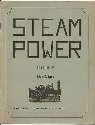 STEAM ENGINE ADVERTISING Book of Advertising 1900 to 1930, Alan King