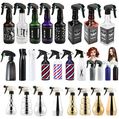 Hairdressing Spray Bottle Salon Barber Hair Tools Water Sprayer Bathroom Travel