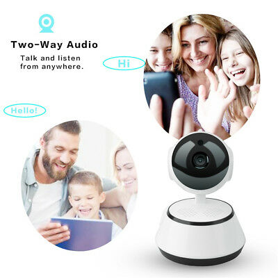 Wireless 1080p IP Camera Pan Tilt Network Security CCTV Night Vision WiFi Cam!