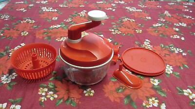 Tupperware Quick Chef  Chopper 1.3 litre, with salad basket,mixing paddle,funnel