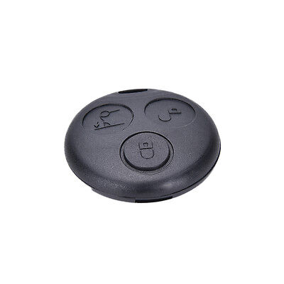 3 Button Remote Key Shell Case Replacement Fob for SMART Fortwo Mercedes Benz WF