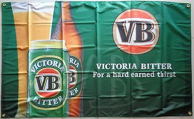 VB Victoria Bitter Flag Large Beer Man Cave Flag Banner