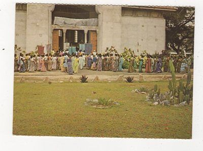 Mothers Union Members Cathedral Colombo Sri Lanka Postcard 776a