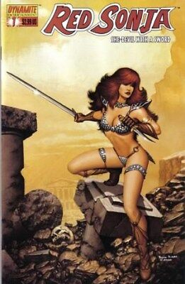 Red Sonja Vol. 1 (2005-2013) #1 (Paolo Rivera Variant)