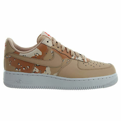 NIKE AIR FORCE 1  07 LV8 Desert Camo Mens 823511-202 Bio Beige Shoes ... 4629949d6417