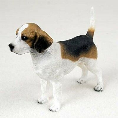 BEAGLE dog FIGURINE puppy HAND PAINTED Statue COLLECTIBLE resin NEW pet