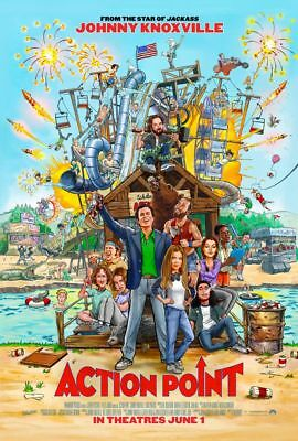 Action Point - original DS movie poster - 27x40 D/S Johnny Knoxville Jackass